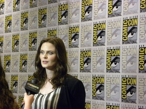 Emily Deschanel at Comic Con 2012