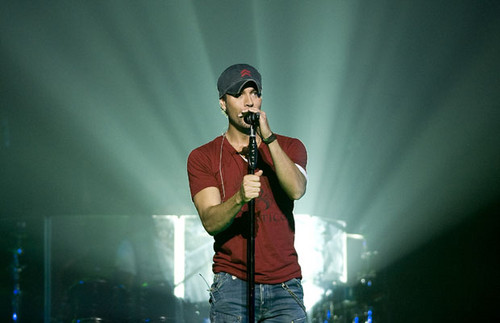 Enrique Iglesias in Montreal July 14, 2012