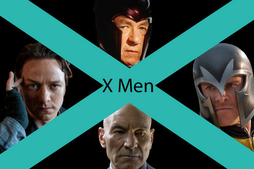 Erik Lensherr Charles Xavier X Men  - x-men-first-class Fan Art