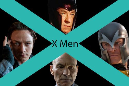 Erik Lensherr Charles Xavier X Men