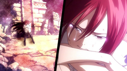 Erza Scarlet wallpaper probably containing a rua and animê called Erza ;)