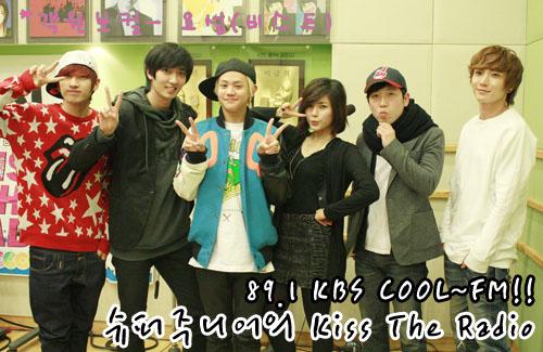Eunhyuk, Jungmo, Yoseob, Beige, Nam Changhee & Eeteuk