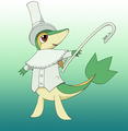 Excalibur Snivy - pokemon-black-and-white photo