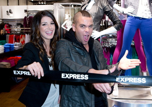 Express Grand Opening Celebration At The Pacific Centre In Vancouver - July 12,2012