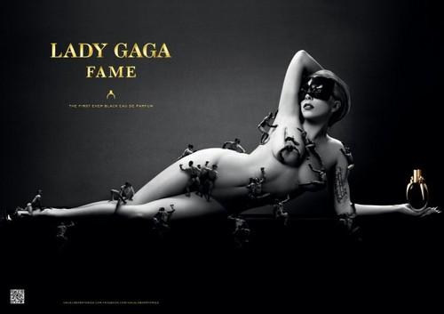 FAME The First Ever Black Eau de Parfum.-print image