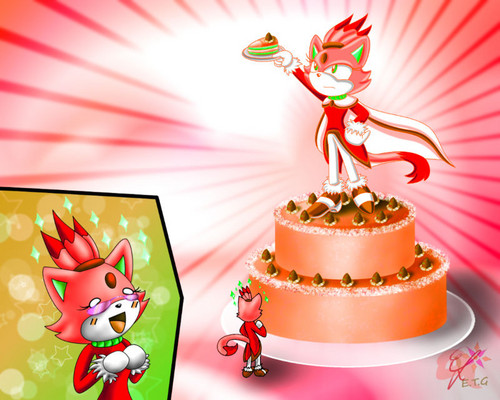 FLARE CAKE RECOLOR!!!!!!!