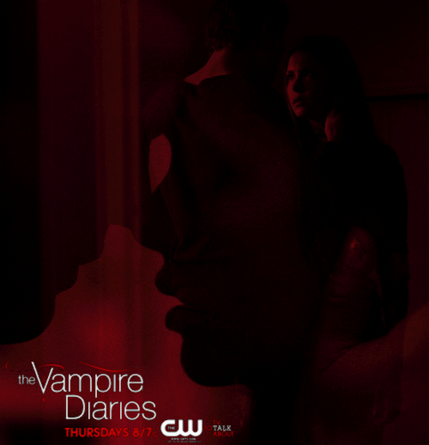 Fan-made TVD season 4 Promo Poster - stefan-and-elena Photo