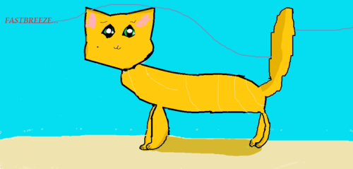 Make Your Own Warrior Cat! wallpaper possibly containing anime titled Fastbreeze