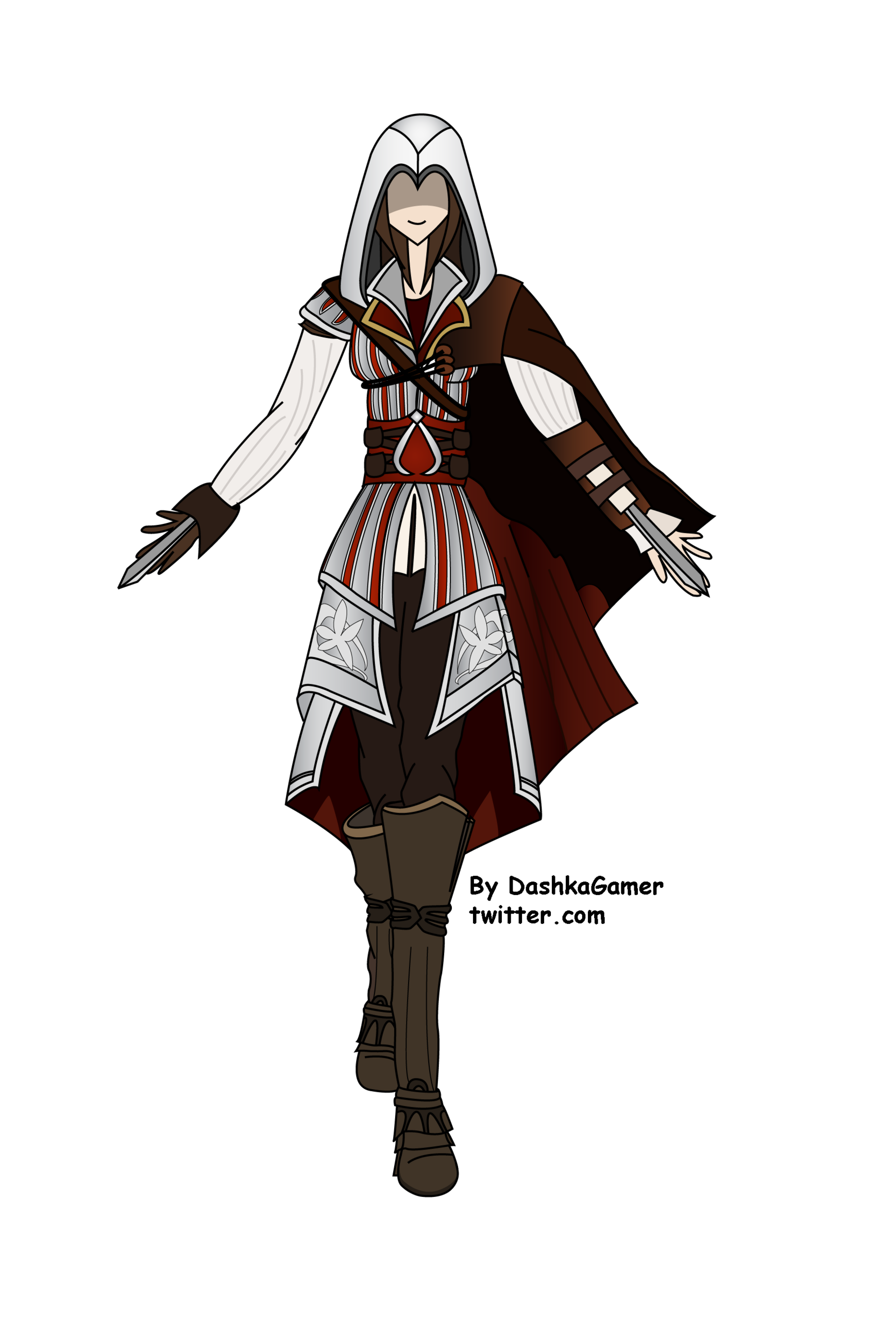 Female Ezio Assassin S Creed Fan Art 31420126 Fanpop