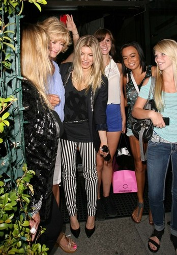Fergie A Fan Favorite At Mr. Chows [July 13, 2012] - fergie Photo
