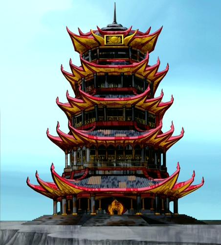 火災, 火 Temple