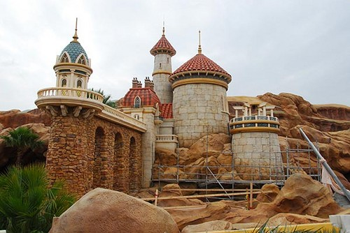 First Look: Prince Eric's schloss at Magic Kingdom