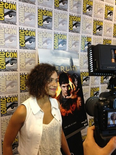 First Pic of Angel Coulby SDCC 2012