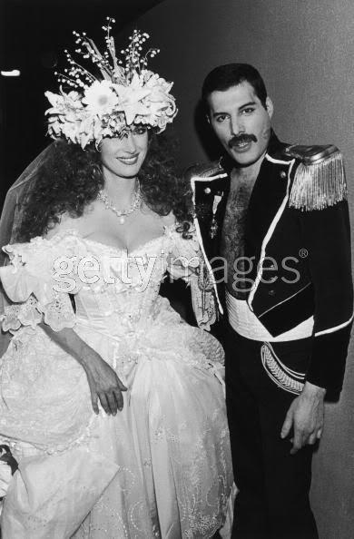 Freddie Mercury - Fashion Aid