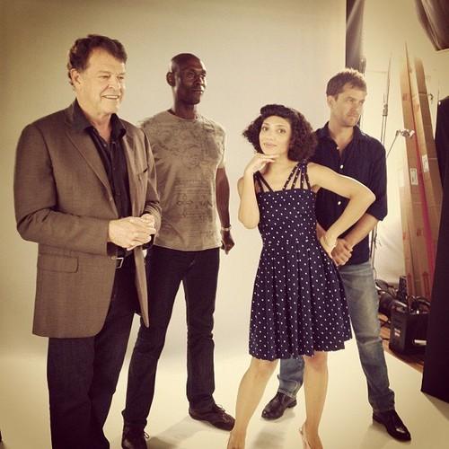 Fringe cast Comic Con 2012