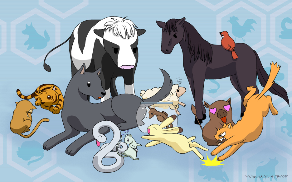 Anime Characters Animals : Fruits basket fan club images hd wallpaper