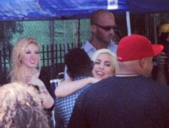 Gaga at Pitchfork muziki Festival (July 15)