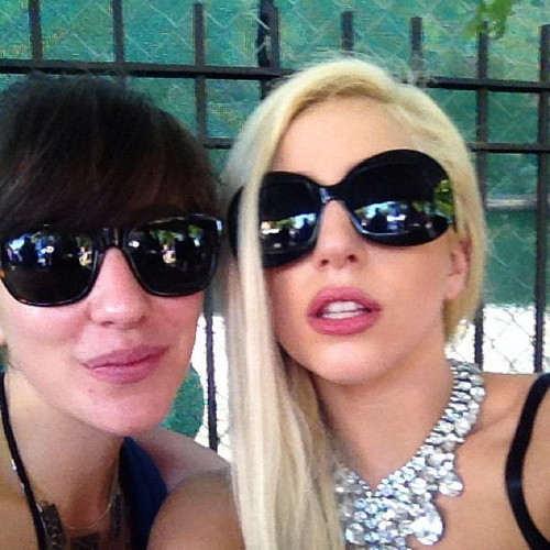 Gaga at Pitchfork muziek Festival (July 15)