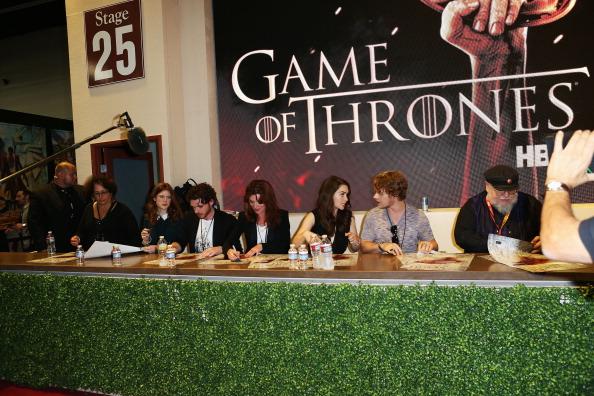Game of Thrones Cast @ Comic-Con 2012