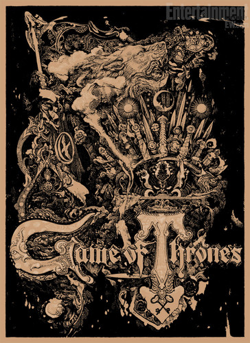 Game of Thrones - Comic-Con 2012 - Poster