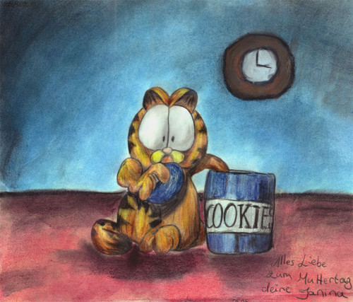 Garfield - garfield Fan Art