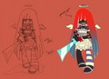 Ghost... Stocking?! - panty-and-stocking-with-garterbelt photo