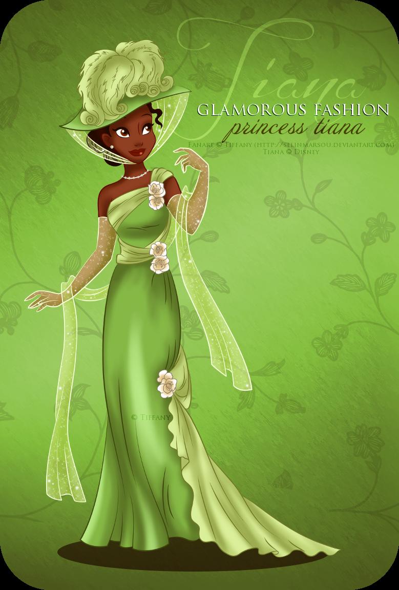 Disney Princess images Glamorous Fashion - Tiana HD wallpaper and ...