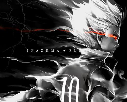 Gouenji Shuuya shadow burn