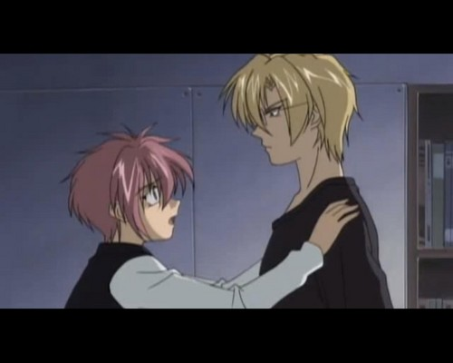 Yaoi wallpaper containing anime titled Gravitation
