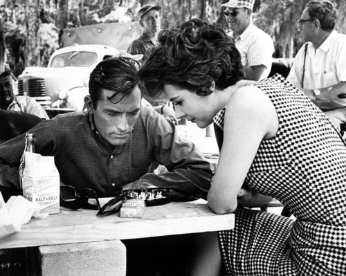Gregory Peck & Polly Bergen