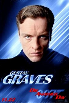 Gustav Graves from Die another siku