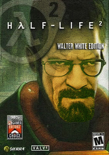 Breaking Bad wallpaper with anime called Half Life 2 - Walter White Edition