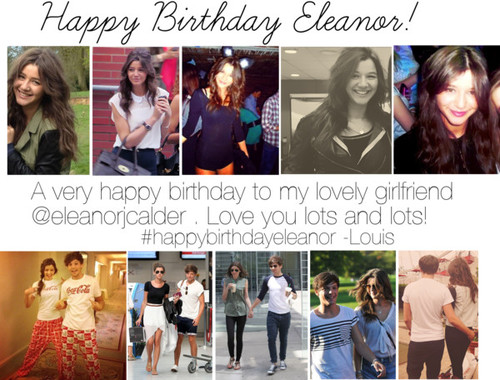 Happy Birthday Eleanor ♥♥ (Fanart)