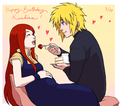 Happy birthday, Kushina! - minato-namikaze fan art