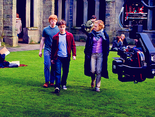 Harry Potter BTS