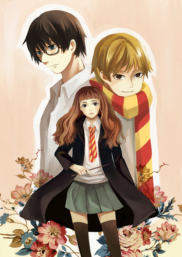 Harry Potter Anime wallpaper entitled Harry