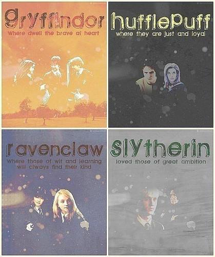 Hogwarts's houses