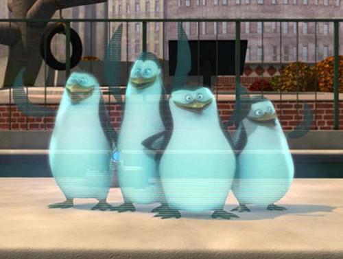 Hologram Penguins