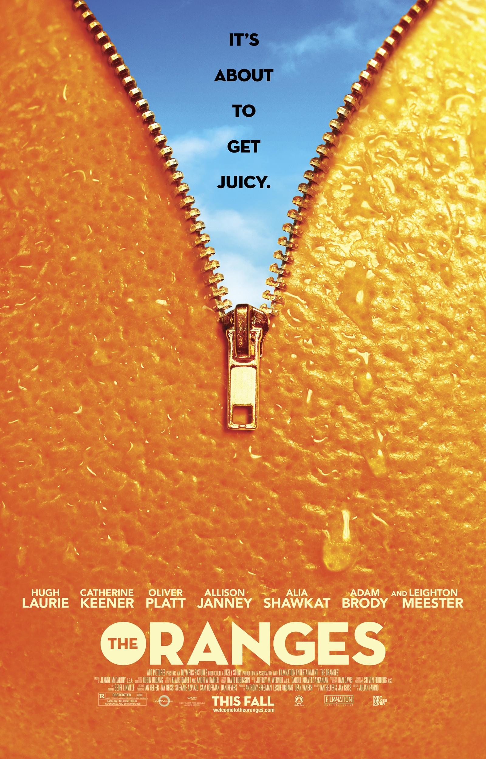 Hugh laurie hugh laurie the oranges official movie poster