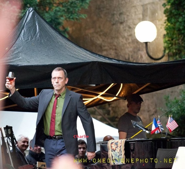 Hugh Laurie and his son Charlie - cognac Blues Passions ‬05.07.2012