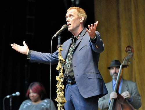 "Hugh Laurie show, concerto at the ""Stadtpark Freilichtbühne"" - Hamburg 15.07.2012"