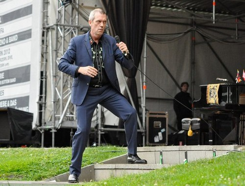 "Hugh Laurie концерт at the ""Stadtpark Freilichtbühne"" - Hamburg 15.07.2012"