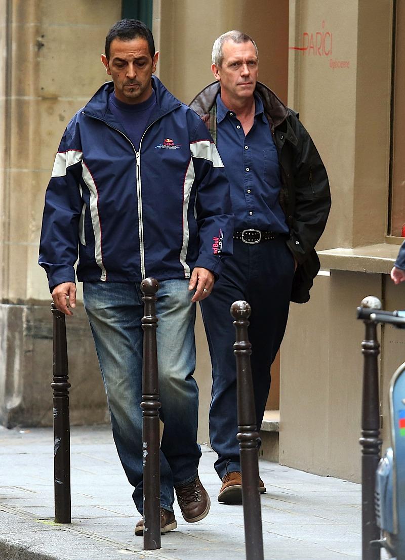 Hugh laurie in Paris 10.07.2012