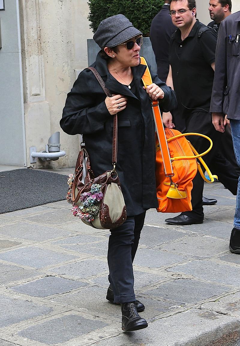 Jo Green in Paris 10.07.2012