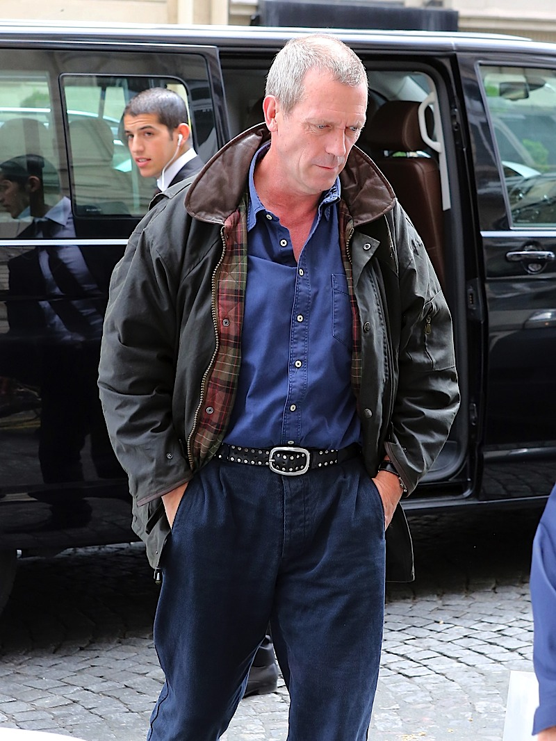 Hugh laurie in Paris 10.07.2012