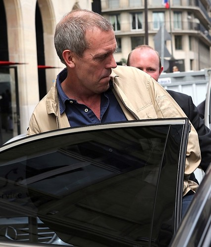 Hugh Laurie wallpaper called Hugh laurie in Paris 10.07.2012