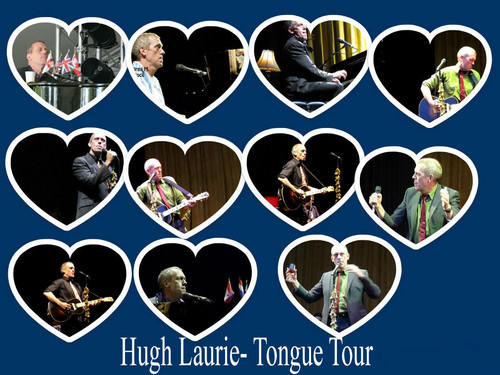 Hugh laurie-tongue tour