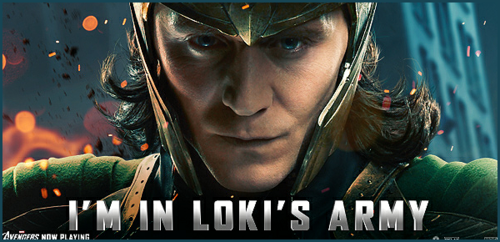 I'm In Loki' Army