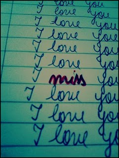 I miss 你
