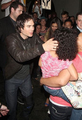 Ian @ the Hard Rock Cafe at Comic-Con 2012 in San Diego